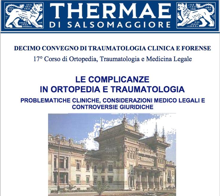 X Convegno di Traumatologia Clinica e Forense